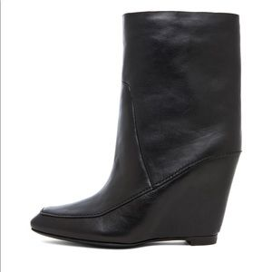 Alexander Wang Cato Leather Wedge Boot